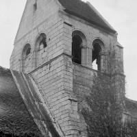 Le clocher vu du sud-ouest (1970)