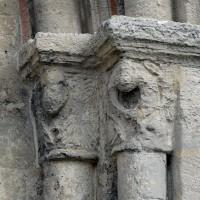 Les chapiteaux de droite du portail ouest (2016)
