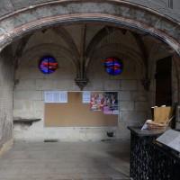 La chapelle seigneuriale au nord du choeur (2016)