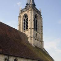 La nef et le clocher vus du nord-est (2016)