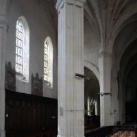 Le bras sud du transept vu vers le sud-ouest (2016)