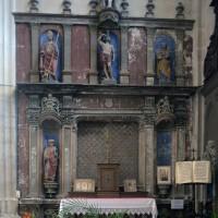 Le retable sculpté du bras sud du transept (2016)