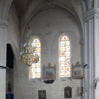 Le bras nord du transept du 13ème siècle vu vers le nord (2016)