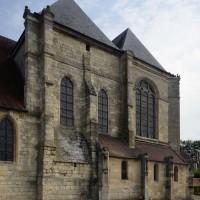 Vue partielle du transept et du choeur depuis le sud-ouest  (2016)