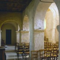 Le bas-côté nord de la nef vu vers le sud-est (1993)