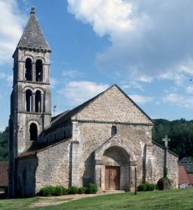 L'église vue du nord-ouest (1993)