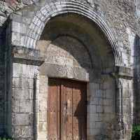 Le portail ouest vu du nord-ouest (1993)