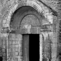 Le portail ouest vu du sud-ouest (1991)