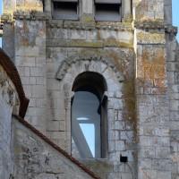 Le premier étage du clocher vu de l'est (2018)