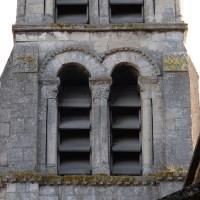 Le second étage du clocher vu de l'ouest (2018)