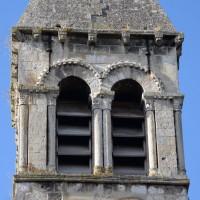 Le dernier étage du clocher vu de l'est (2018)