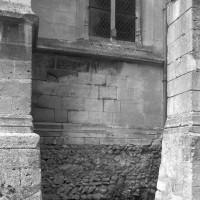 Vue partielle du mur sud de la nef (1997)