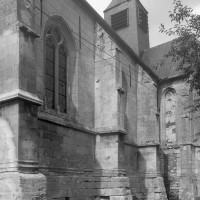 Vue partielle de l'église depuis le sud-ouest (1997)