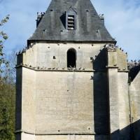 Le clocher vu de l'ouest (2018)