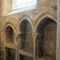 Les arcatures aveugles au mur sud de la seconde travée du choeur (2004)