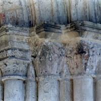 Les chapiteaux des piédroits de droite du portail ouest (2004)