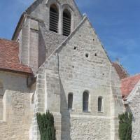 Vue partielle de l'église depuis le sud-est (2004)