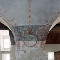 Le décor peint du mur nord de la nef (2004)