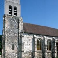 Vue partielle de l'église depuis le sud-ouest (1996)
