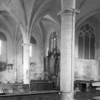 Le choeur et l'abside vus vers le nord-est (1996)