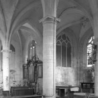 Vue partielle du choeur et de l'abside vers le nord-est (1996)