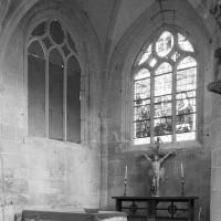 L'abside vue vers le nord-est (1996)