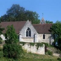 L'église vue du sud (1993)