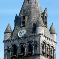 Le clocher vu du sud-ouest (1993)