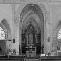 La croisée du transept vue vers l'est (1980)