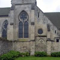La façade du bras nord du transept vue du nord (2016)