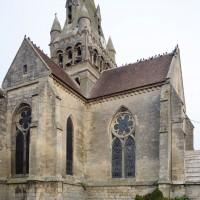 Les parties orientales de l'église vues du sud (2018)