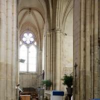La croisée et le bras nord du transept vus vers le nord (2018)