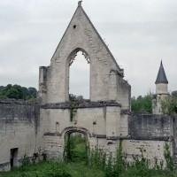 Les ruines de l'église vues du sud-ouest (2007)