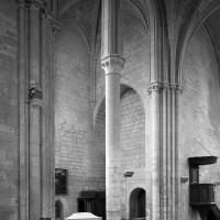 Le bras sud du transept vu vers le sud-ouest