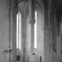 Le bras nord du transept vu vers le nord-est