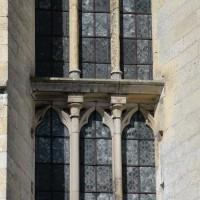Partie intermédiaire d'une fenêtre de l'abside (2016)