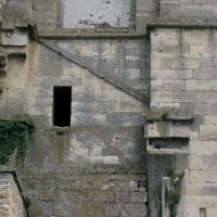 Détails de la face ouest de la tour sud (1997)
