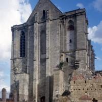 La façade vue du sud-ouest (1997)