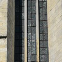 Partie haute d'une fenêtre de l'abside (2016)
