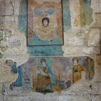 Reste de fresque au mur est du bas-côté nord (2015)