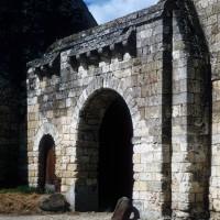 La porte d'entrée de l'abbaye (1971)
