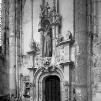 Le portail d'entrée de la sacristie (1997)