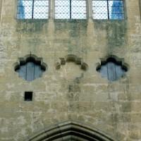 Quadrilobes au second étage d'une travée du mur gouttereau (1997)