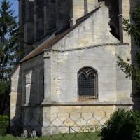 La sacristie vue de l'est (2016)