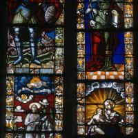 Vitrail de la fenêtre centrale du choeur (1997)