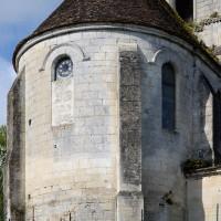 L'abside vue du nord-est (2016)