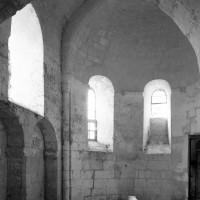 La chapelle nord vue vers le nord-est (1982)