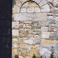 Porte romane dans le mur sud de la nef (2003)