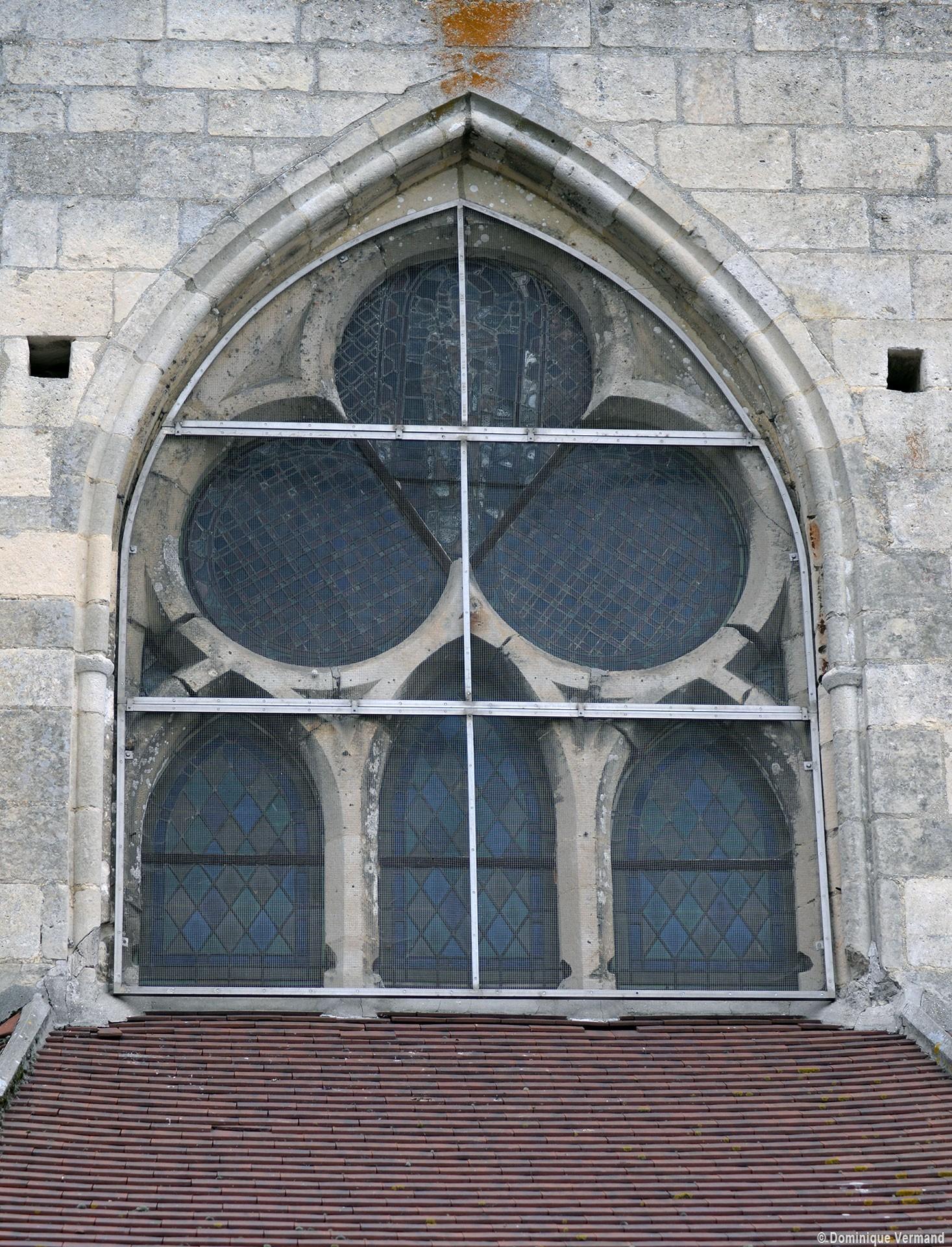 Thiverny glise saint leufroy eglises de l 39 oise for Fenetre gothique