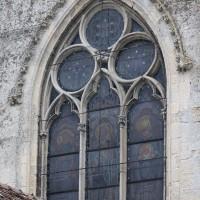La fenêtre de la partie centrale de la façade ouest (2016)
